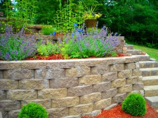 enhance your landscaping with decorative retaining walls from rick