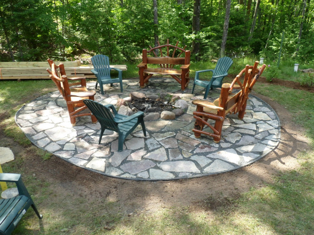 Sunken Fire Pit Designs Fire Pit Ideas With Sunken Fire