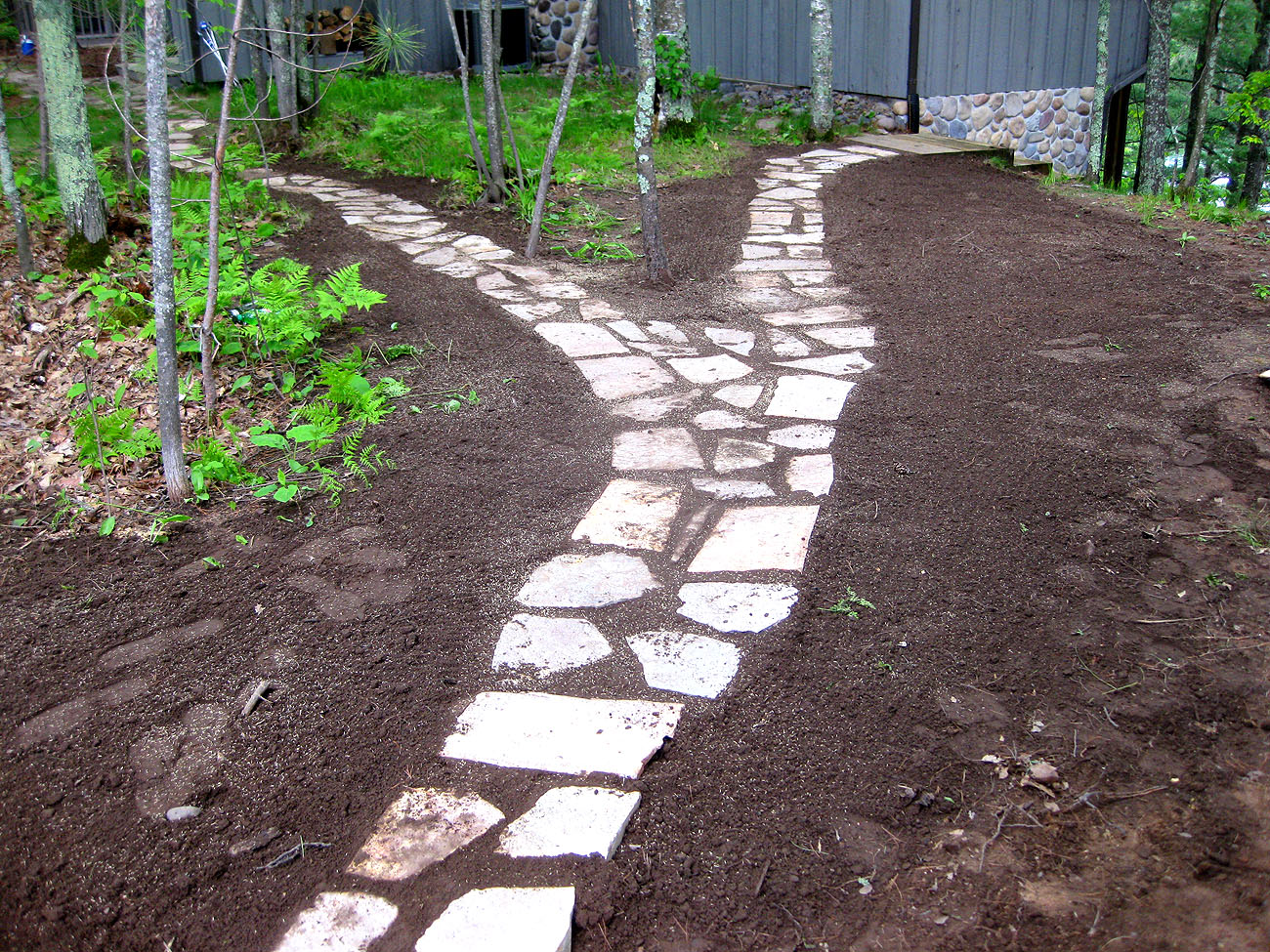 chilton walkway rick gruel landscaping