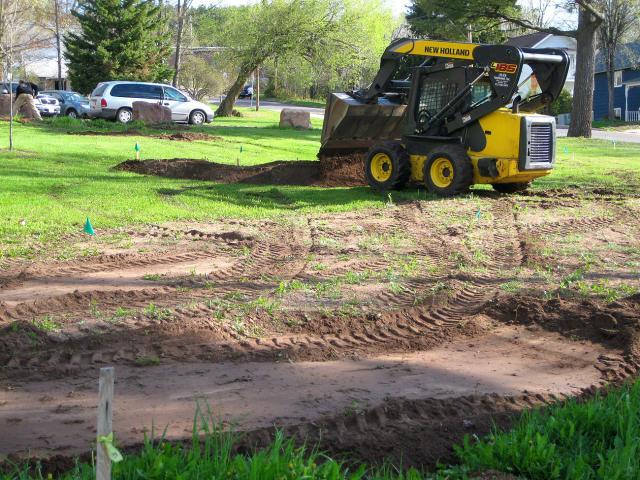 light excavating